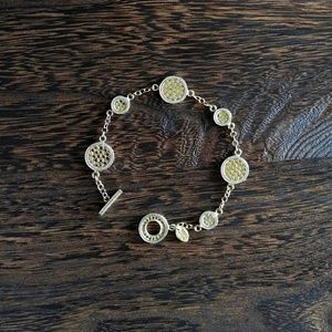 ❇️Anna Beck❇️ Circle Station Bracelet - USED 1x